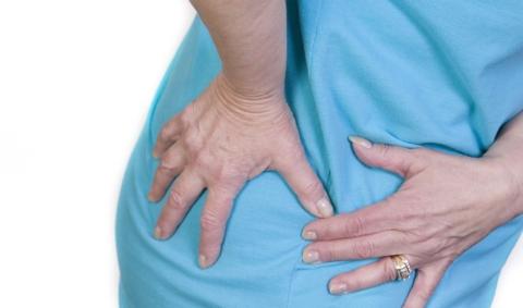 У некоторых даже наклоны корпуса вперёд могут вызывать сильную боль