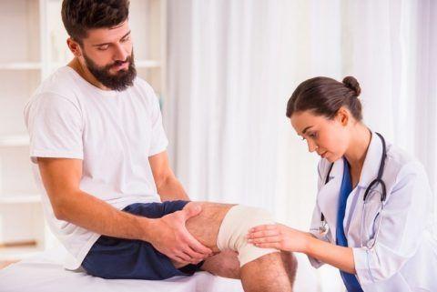 Внутрисуставной перелом сустава колена требует срочной помощи