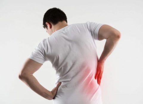 Боль в спине при дегенеративно-дистрофическом поражении межпозвоночных дисков и хрящевой ткани