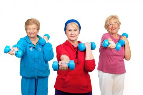 Физические нагрузки должны соответствовать возрасту и общему состоянию