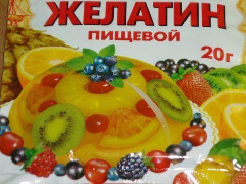 Использование пищевого желатина для лечения связок.
