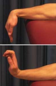 Начинать разрабатывать кисть нужно с простых упражнений