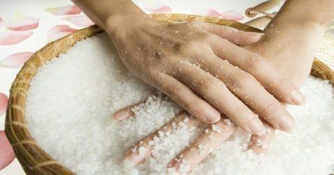 Повязка с солью