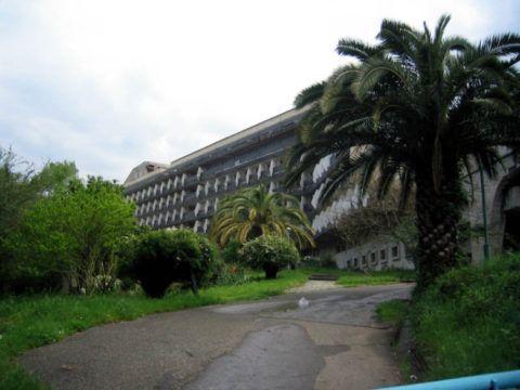 Сана - единственная бальнеологическое ЛПУ в Гагре