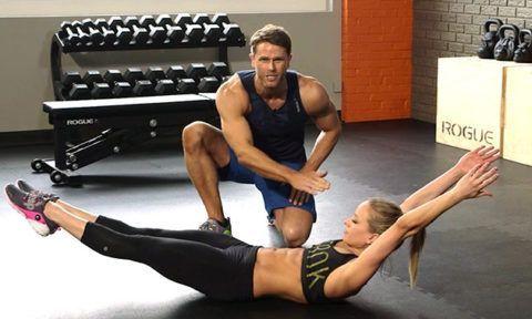 Упражнение для спины – лодочка для укрепления межостистой и надостистой связки