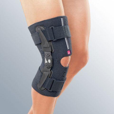 Если в одном или нескольких суставах присутствует болевой синдром, врач рекомендует ношение специального ортеза