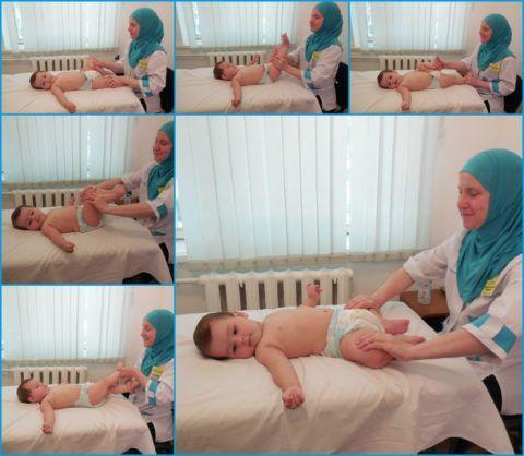 Зарядка для грудничков