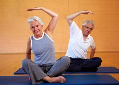 Зарядка при остеопорозе позвоночника видео