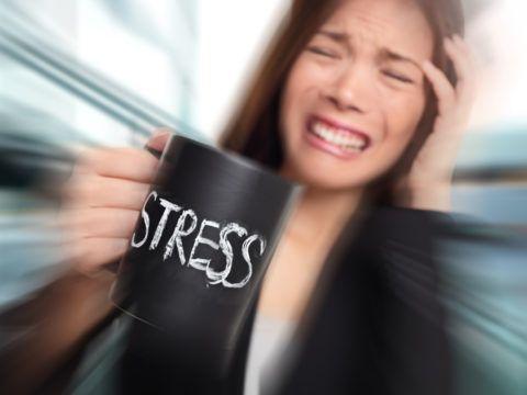 Нахождение в стрессовой ситуации