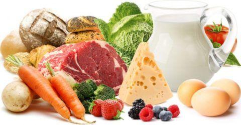Натуральные и свежие продукты