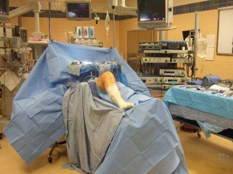 Подготовка пациента к плановой процедуре.