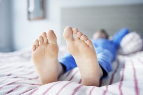 Поврежденной конечности должен быть обеспечен покой