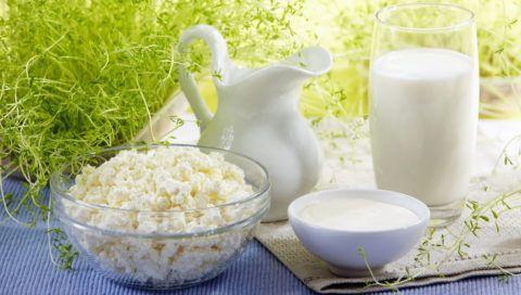 Свежие молочные и кисломолочные продукты укрепляют костную и хрящевую ткани.