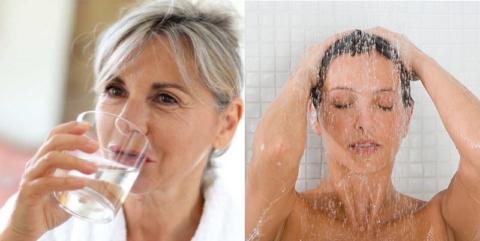 Утренний приём воды и душ – важные составляющие пробуждения от сна