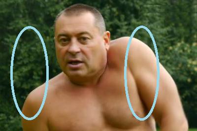 Асинхронные круги плечами