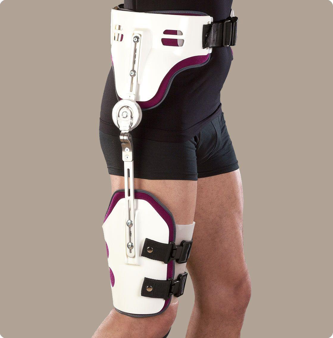 Ортез на тазобедренный сустав: правила подбора и использования