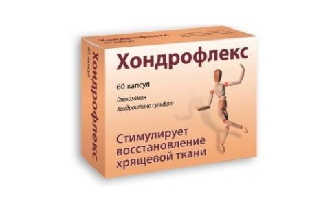 Хондрофлекс - комбинированное лекарство, способствующее восстановлению хрящика