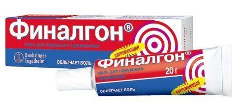 Капситрин, на фото аналог, Финалгон