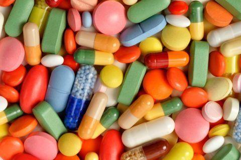 Капсулированные и таблетированные медикаментозные средства.