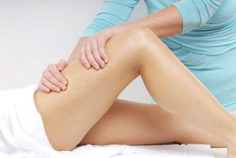 Массажные манипуляции помогают восстановить мышечную активность