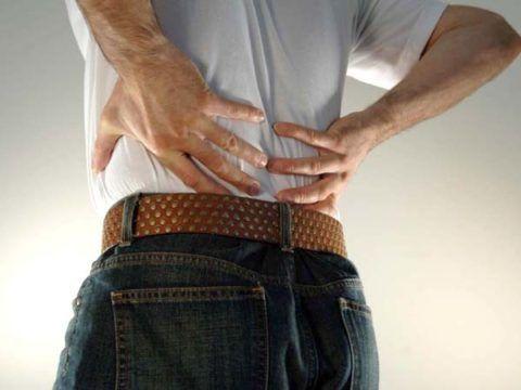 Межпозвонковая грыжа провоцирует сильную боль
