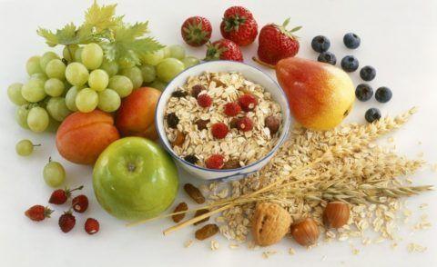 Не будет лишним и питание с повышенным содержанием полезных веществ