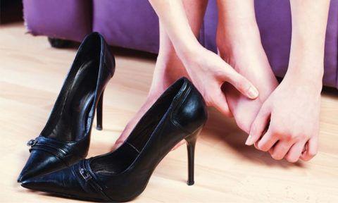 Ношение неправильной обуви