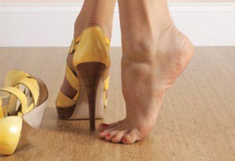 Подъем на носочках