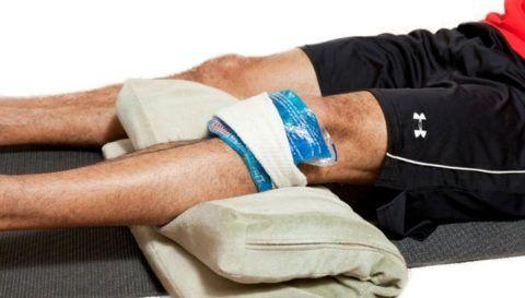 При помощи желатинового компресса можно быстро купировать болевой синдром