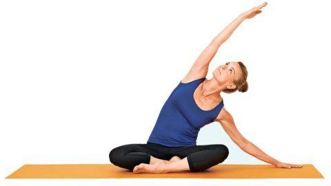 Расслабление после выполнения упражнений благоприятно сказывается на нижних конечностях и всём организме.