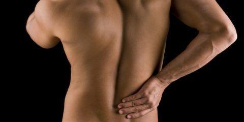 Слабость мышц, которые поддерживают позвоночник
