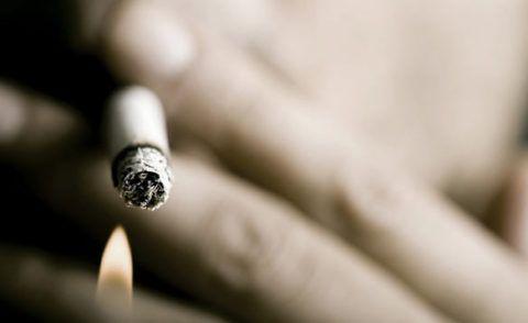 Употребление табачной продукции