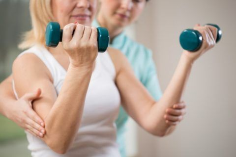 Упражнения с гантелями для восстановления мышечной силы