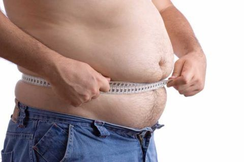 Избыточная масса тела повышает нагрузку на опорный аппарат.