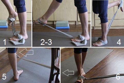 Укрепления связок и мышц с помощью ленты