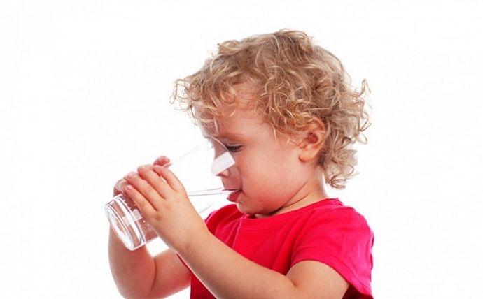 Рекомендуется нормализовать питьевой режим