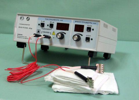 Изображение - Воспаление лучезапястного сустава лечение pribor-dlya-provedeniya-elektroforeza-480x345