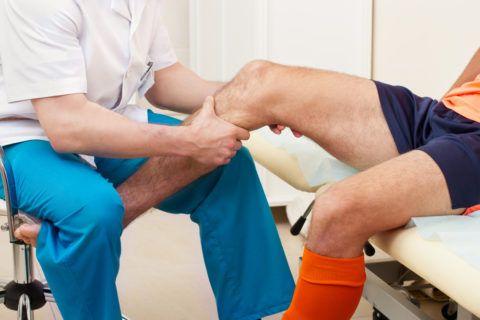 С травмой часто сталкиваются спортсмены.