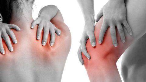 При болях в суставах могут быть использованы средства из серии 911