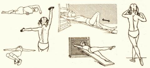 Асимметричные и деторсионные (поворотные) движения врач подбирает индивидуально!