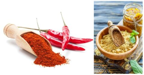 Самый популярные натуральные вещества, применяемые для раздражения рецепторов кожи