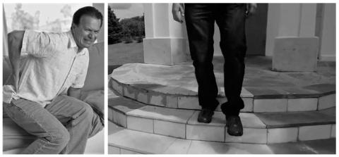 Спондилез поясничного отдела «не даёт» спокойно сидеть и свободно спускаться по лестнице