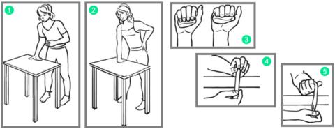 Перед занятием намажьте проблемную зону разогревающим кремом, например, «Балет»