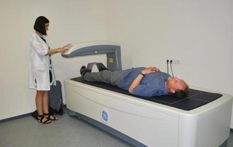 Процедура РГ-денситометрии голеностопных суставов