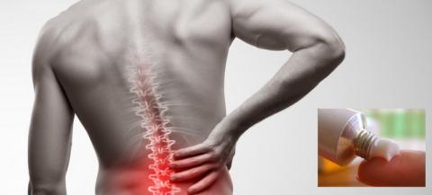Преимущество наружных средств – локальное воздействие на проблемную область спины