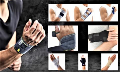 Бандаж (суппорт) для лучезапястного сустава – вид зависит от патологии и этапа лечения