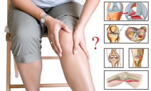 Некоторые из распространенных причин возникновения в колене болевого ощущения