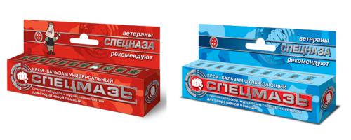Производитель Спецмазей — ООО Шустер Фармасьютикл, Россия