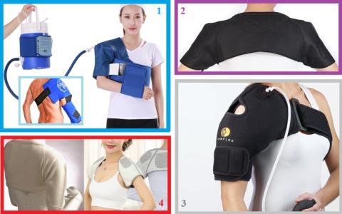 Оригинальные бандажи для вспомогательного лечения плечевых суставов