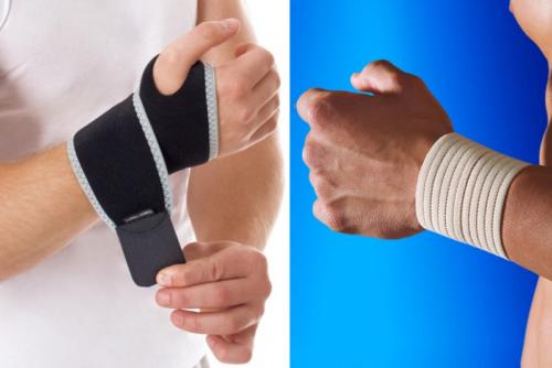 Медицинский бандаж — эластичная повязка (с застежками или без) для поддержания частей тела